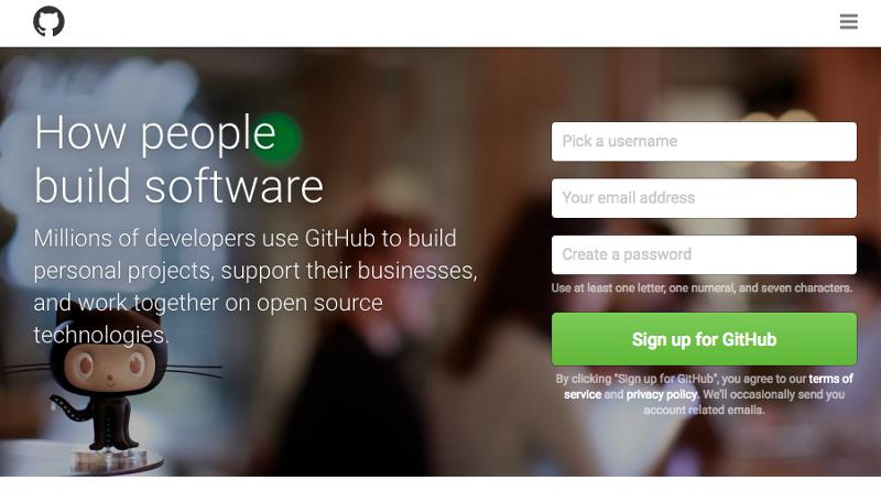 GitHub首页