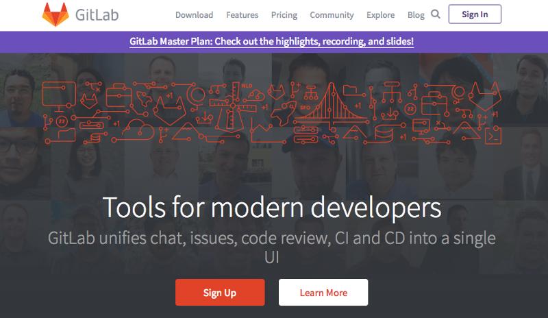 GitLab首页